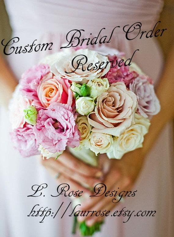Reserved - Bridesmaid Necklaces - Citrine Gemstones