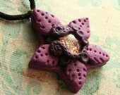 Purple Starfish Pendant