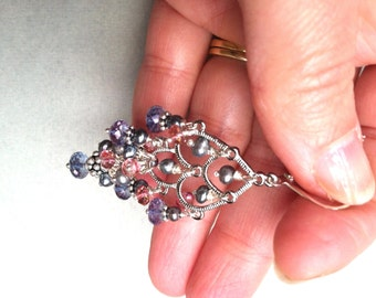 Mystic chandelier earrings