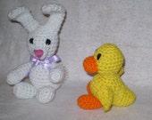 Springtime Friends Crochet Amigurumi Pattern