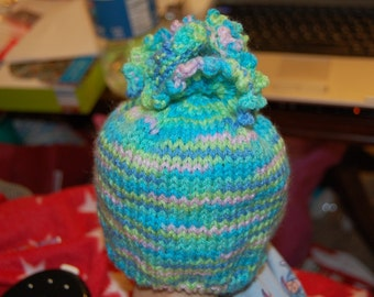 Pebbles Flower Top Hat Pattern