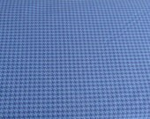 Freespirit Fabric - Design Essentials Houndstooth Check - Hot House Blue - One Yard