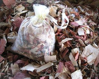 MiNi SACHETS  whiffs of natural scent  ROSEMARY CEDAR