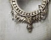 French Antique Mirror Photo 8x8 Print