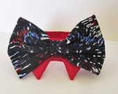 Dog Cat Collar : Fourth of July Fireworks Dog clothes collars