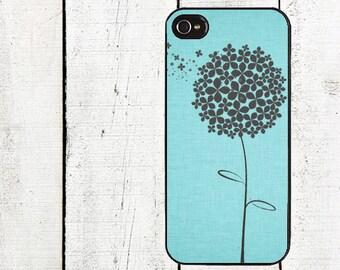 iphone 6 case Blue Dandelion iPhone Case - iphone 4,4s - iPhone 5 -