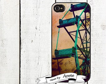 Carnival Ferris Wheel Phone Case for  iPhone 4 4s 5 5s 5c SE 6 6s 7  6 6s 7 Plus Galaxy s4 s5 s6 s7 Edge