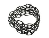 Wave Bracelet (3D printed nylon)
