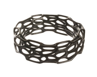 Porous Bracelet (3D printed nylon)