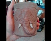 CUSTOM SCULPTED handmade coffee mug -- convo me first