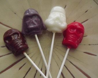 30 Space Fight Party Favor Lollipop Sucker Candy