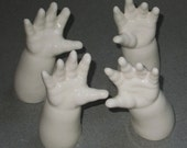Set of 4 Hands, ready to ship