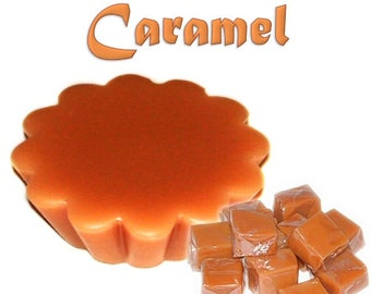 4 Caramel Wax Tart Wickless Candle Melts Buttery Toffee Scent