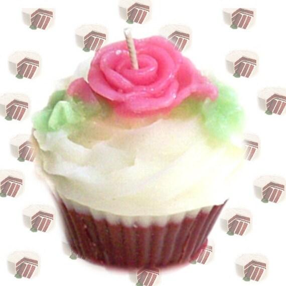 Red Velvet Birthday Cupcakes Red Velvet Cake Cupcake Candle