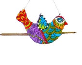 colorful design bird for decoration the wall