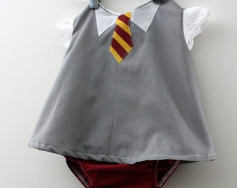 Hogwarts Gryffindor Student Costume - Swing Top - SHIRT ONLY