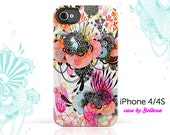 iPhone 4 Case, iPhone 4S Case - Original Artwork by Yellena - De Novo