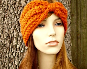 Instant Download Womens Headband Pattern - Crochet Headband - Turban Headband and Bow Headband Patterns - 6 Patterns In 1 Womens
