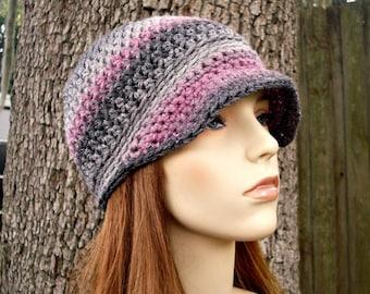 Instant Download Crochet Pattern - Newsboy Hat Pattern - Crochet Hat Pattern - Biloxi Skullcap Beanie Pattern - Womens Accessories