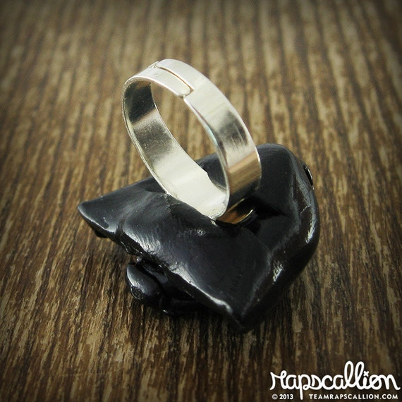 darth vader wedding ring darth vader inspired ring by rapscalliondesign on etsy 3313