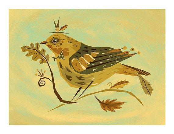 """Spinus Bird 11"""" x 8.5"""""""