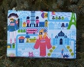 Kawaii Wallet on a String, security wallet, travel wallet, passport wallet, Kawaii Travel