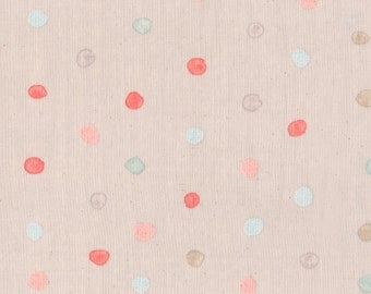 Nani Iro Kokka Japanese Fabric Colorful Pocho - berry field - 50cm