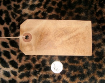 25****   JUMBO   XL Blank ,Primitive Tags, coffee grunged,rustic,vintage,with string,and shipping included