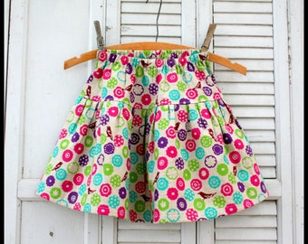 Instant Download The Penny Skirt DIY Tutorial PDF Pattern Ebook Sweet and Girly Sizes 1-6