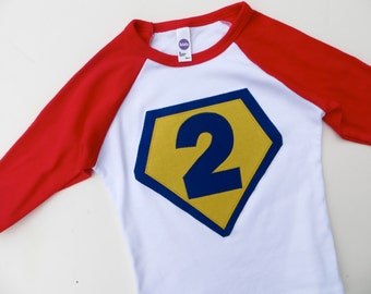 Number 2 Superhero needs a Cape Birthday Shirt Boy for Playdates or Photoshoot Zoom