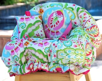 Shopping Cart Cover for Girls - Accessories for Baby  - Boutique Shopping Cart Cover- Kumari Garden