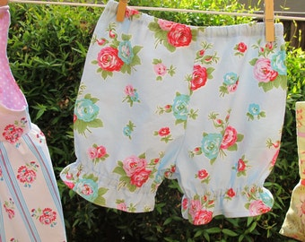 Bloomers, Knickers Pattern - Baby and Toddler Girl Pantaloons Pattern - PDF - Easy Sew