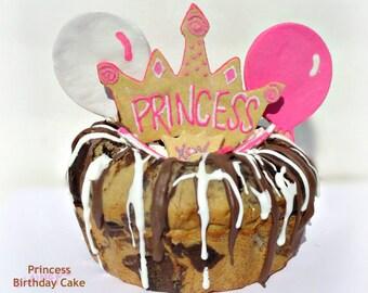Laineys Princess Birthday Cake