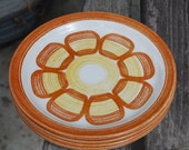 Vintage Mid Century Small Plates