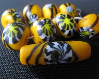 stoursglass  Psychedelic  Lampwork Beads