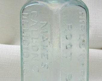 Antique Hires Bottle (Aqua279)