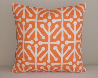 Decorative Throw Pillow Cover 20x20 Orange Jacks FREE SHIPPING