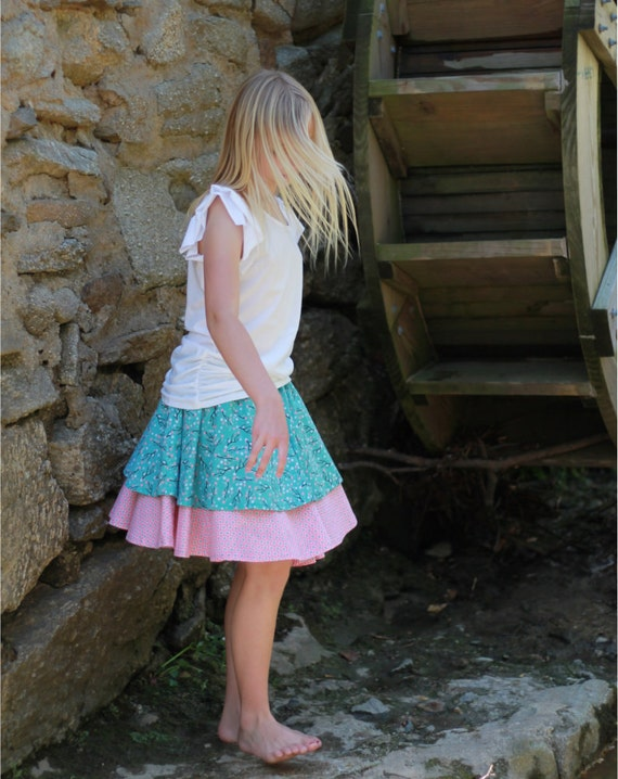 Double circle skirt instructions