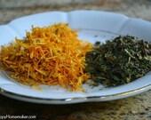 Organic Calendula Petals & Comfrey Leaf for Healing Salve