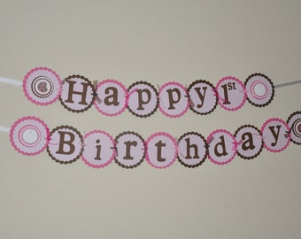Milk and Cookies. Banner. Birthday Banner. Choose boy or girl. First Birthday. Sweets
