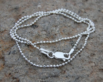 Add on - Sterling Silver bead chain 1.5 mm
