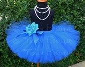 "Girls Tutu Skirt - 10"" Sewn Tutu - Ready to Ship - sizes Newborn to 5T - White, Yellow, Orange, Purple, Red, Blue, Pink, Green, Black, Brown"