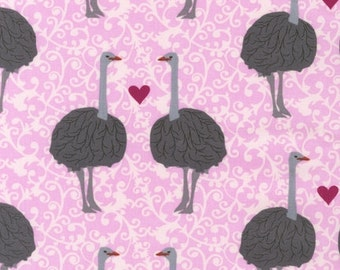 Laurie Wishburn, Olive the Ostrich in Rose, LAST 27 Inches