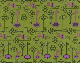 Suzy's Dollhouse by Suzy Ultman for Robert Kaufman Fabrics- Keys Garden