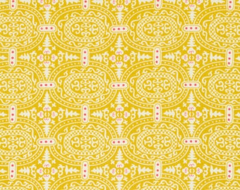 Amy Butler Alchemy Fabric, Memoir in Zest, 1 yard
