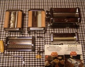 Pasta Machine, Marcato, Vintage Kitchen, Atlas, Pasta Maker