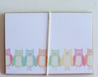 wise little owls - boxed note card set