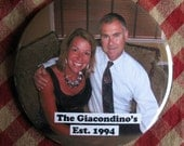 Custom/Personalized Anniversary Magnet. Your photo and text