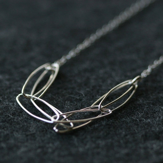winter light - sterling silver necklace by elephantine