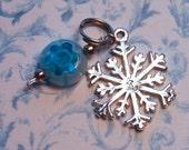 Sterling Snowflake Charm